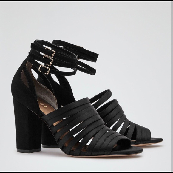 59d35df71bf Rousseau Reiss Summer Sandals in Black